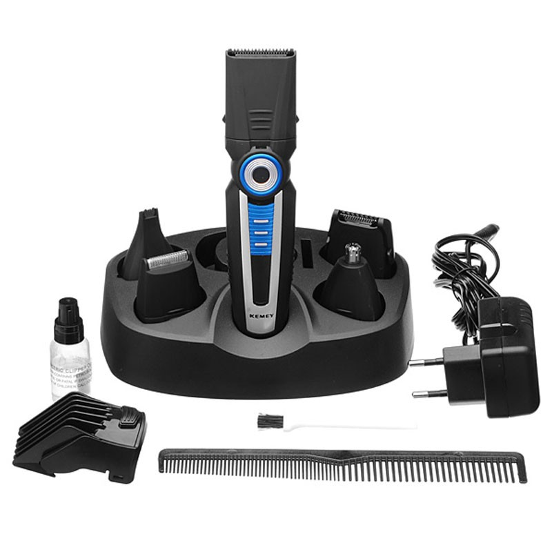 kemei km 008 6in1 multifunction electric shaver trimmer. Black Bedroom Furniture Sets. Home Design Ideas