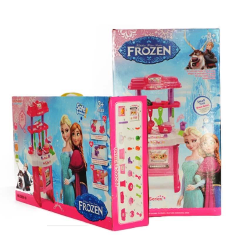 Frozen electronic kitchen play set 3830 10 for Electronic kitchen set