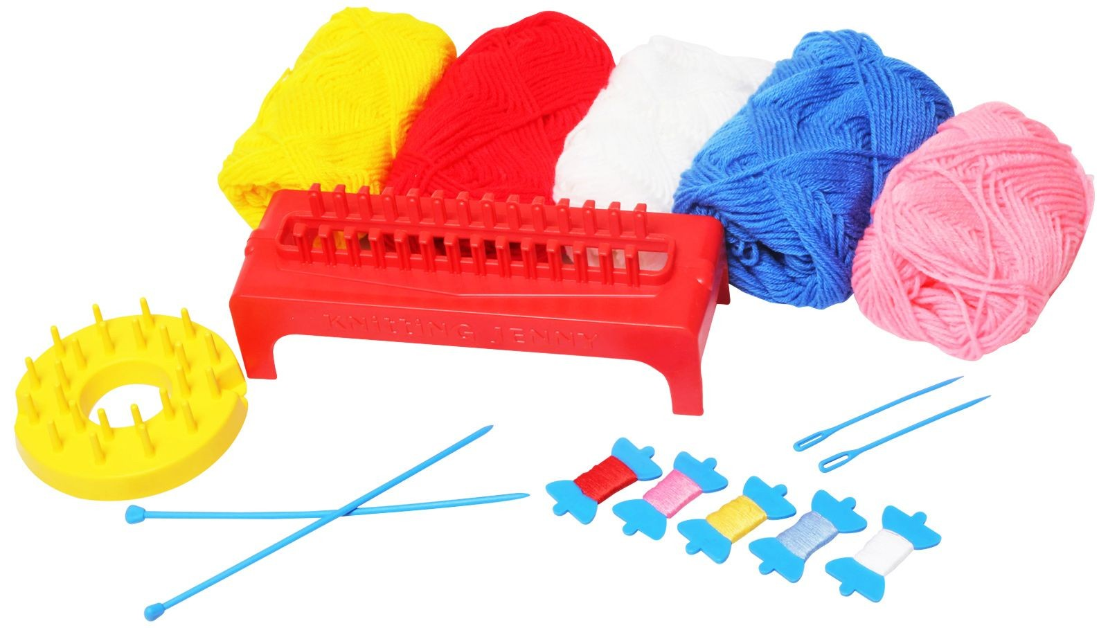 Knitting Jenny Funskool : Funskool knitting jenny game
