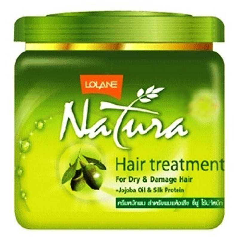 Lolane Natura Hair Treatment For Dry And Damaged Hair With