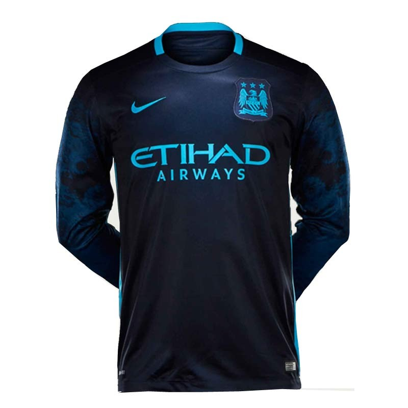 Manchester City Away Full Sleeve Jersey 2015 16