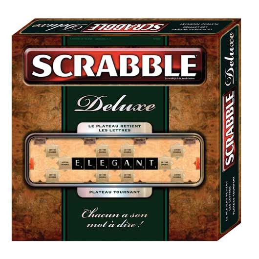 Mattel Scrabble Deluxe Board Game