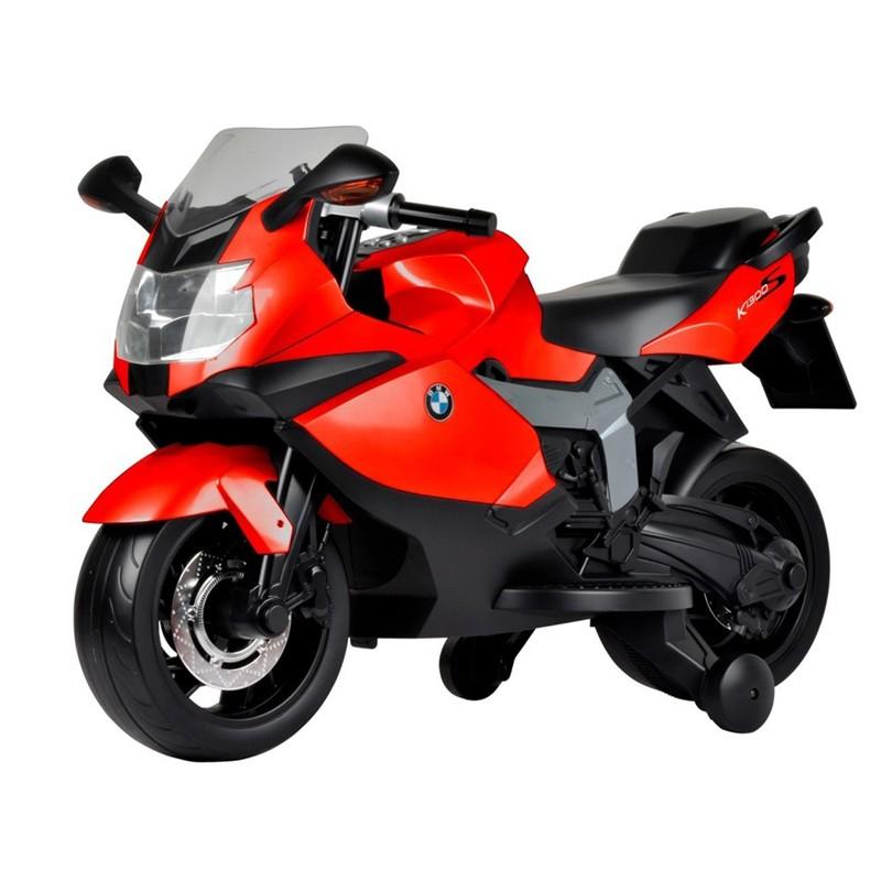 Kids Ride On Electric Motor Bike Bmw Red Emb01