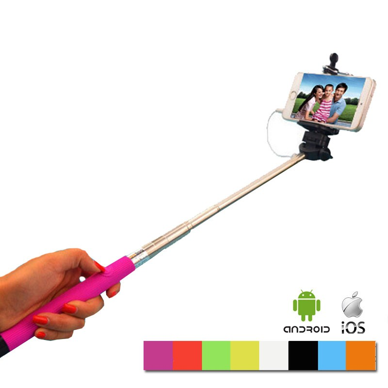monopod take pole selfie stick for android and iphone. Black Bedroom Furniture Sets. Home Design Ideas
