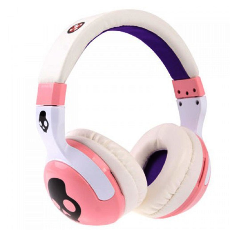 Skull Candy Hash Paul Frank Series Replica Headphones Pink