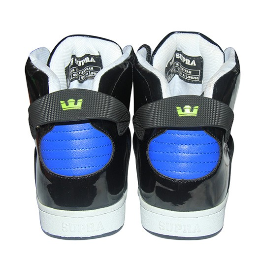 Supra High Top Shoes FS022 Blue With Black 7429258b6