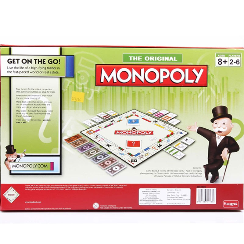 Funskool Monopoly The Original Board Game