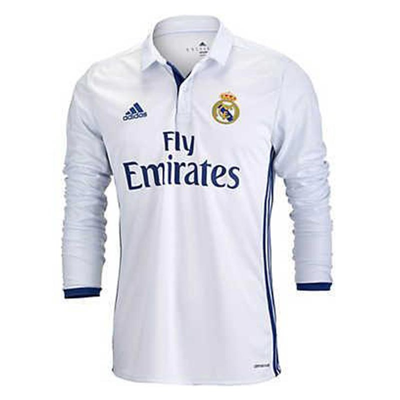 Real Madrid Full Sleeve Home Jersey 2016 17